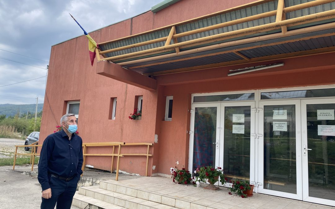 Sala de sport a orașului devine centru de vaccinare la Comarnic